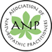 The Association of Naturopathic Practitioners logo and link to website
